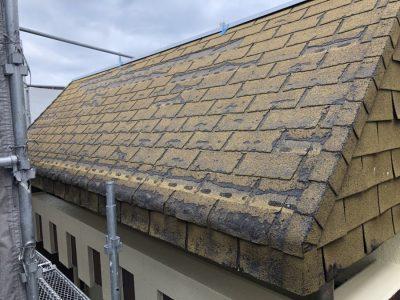 古くなった屋根